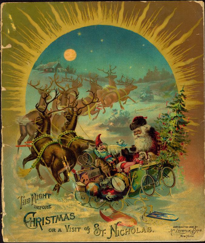 o poema twas the night before christmas - Twas The Night Before Christmas Youtube