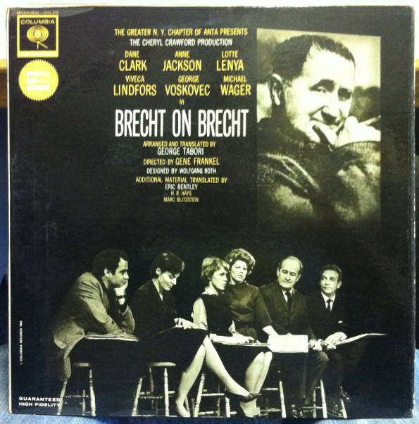 Brecht On Brecht