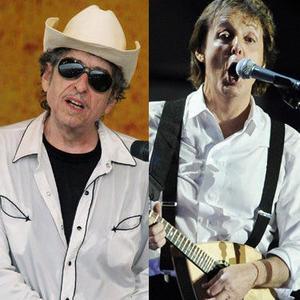 Bob Dylan & Paul McCartney
