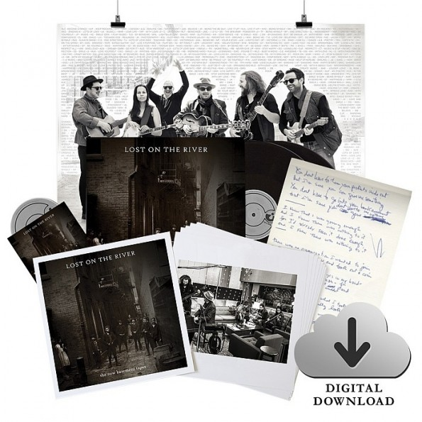 Lost On The River Box Set + Deluxe Digital Album + Fan Poster Bundle