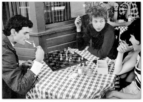 Victor Maymudes e Bob Dylan