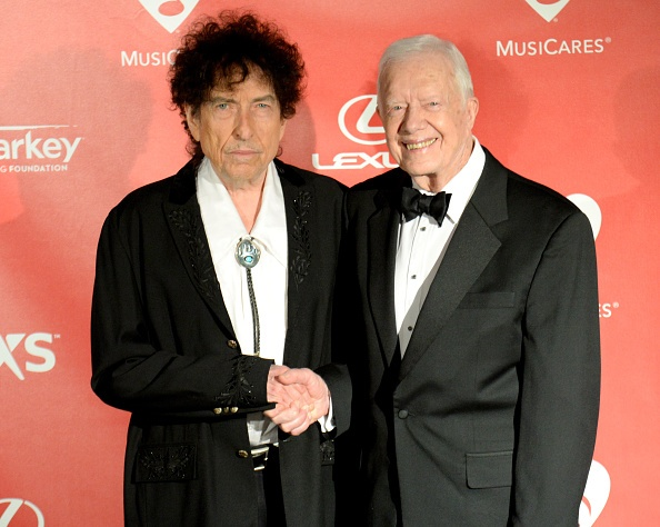 Bob Dylan e Jimmy Carter