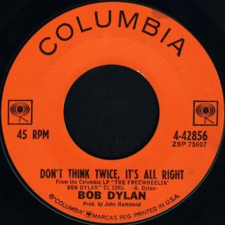 Don't_Think_Twice,_It's_All_Right_Dylan_label