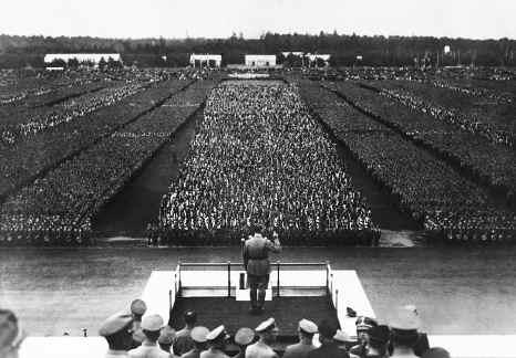 Hitler, em Nuremberg.